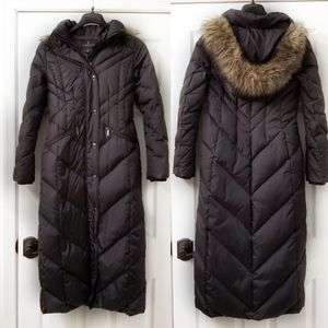 London Fog Long Puffer Coat